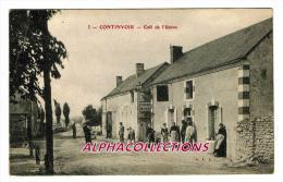 37 - CONTINVOIR : CAFE DE L'UNION. - Altri Comuni