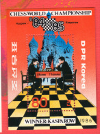 COREE DU NORD 1986 Neuf** Echecs Echec Chess Schach Scacchi Ajedrez - Scacchi