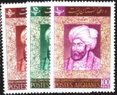 AFGHANISTAN: EMPEROR AHMAD SHAH, FOUNDER OF AFGHAN KINGDOM,1962, MNH,SCOTT 562-4 - Afghanistan