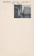 BRUXELLES - Place Rogier - Hotel Albert , Belgium , 20-30s - Belgique