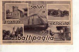 BATTIPAGLIA ,  Treno - Battipaglia