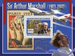 gu0794b Guinea 2007 Sir Arthur Marshall s/s Concorde Olympic Michel: 5125 / Bl.1418 Yvert&Tellier: 739