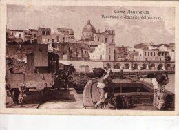 TORRE ANNUNZIATA , Napoli , Scarico Del  Carbone , Ferrovia , Treno   * - Torre Annunziata