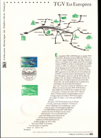 2007 - DOCUMENT OFFICIEL - TGV EST EUROPEEN - Documents De La Poste