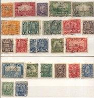 Año 1927-35 Yvert Varios George V  Lote 38 Sellos Matasellos Varios - 1911-1935 Reign Of George V