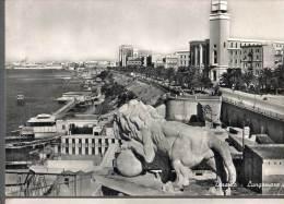 1956 TARANTO LUNGOMARE FG V SEE 2 SCAN ANIMATA - Taranto