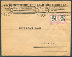 1924 Finland Turku Abo Advertising Cover - Lubeck - Covers & Documents