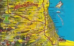 Illinois Map Of Illinois Tollway