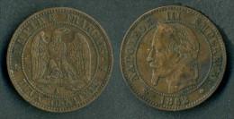 Francia - Moneta Da 2 Centesimi 1862  - Rif. Ba048 - Francia