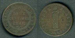 Haiti - Moneta Da 2 Cent. 1846  - Rif. Ba046 - Haiti
