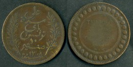 Tunisia - Moneta Da 10 Cent. 1892  - Rif. Ba117 - Tunisia