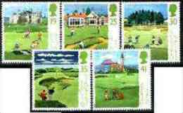 16300 - Great Britain 1994 Scottish Golf Courses Set Of 5 Unmounted Mint SG 1829-33 - Sin Clasificación