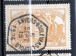 CF 27 Oblitération Hexagonale ANVERS BOULEVARD LEOPOLD - 1895-1913