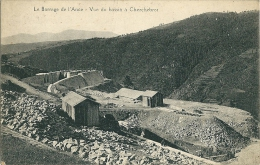 Ance ,le Barrage En Construction Vue Du Bassin A Cherchebrot - Sin Clasificación