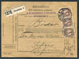 1918 Sweden Adresskort Stockholm - Hafverosund