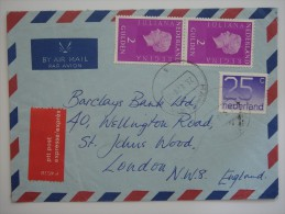 Netherlands Nederland 1979 EXPRESS Commercial Cover To UK - Period 1949-1980 (Juliana)