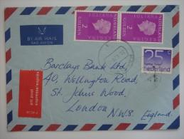 Netherlands Nederland 1979 EXPRESS Commercial Cover To UK - 1949-1980 (Juliana)