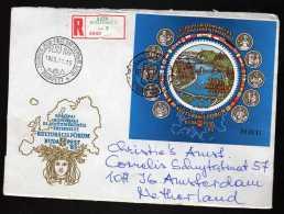 Hongrie Y&t N° 182 Sur Moitié D'enveloppe Année 1985 (026) - FDC