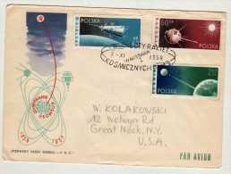 Pologne Y&t N° 992.993.994 Au Recto Et Verso N°993 (855.856) - FDC