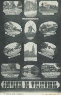 Wuustwezel - Souvenir De ... - Kaart Multiviews - 1909  ( Verso Zien ) - Wuustwezel