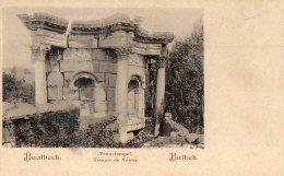 [DC8715]  BAALBECK - VENUSTEMPEL - TEMPLE DE VENUS - BALBEK - CARTOLINA D'EPOCA - Old Postcard - Libano