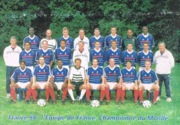 Equipe De France . Championne Du Monde 98 . - Soccer