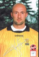 Fabien Barthez . - Soccer