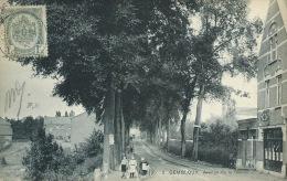 Gembloux - Avenue De La Gare - S.B.P. - 1907 ( Voir Verso ) - Gembloux