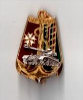 INSIGNE  43° BIMa  Bataillon D´Infanterie De Marine - DELSART G 1729 - Armée De Terre