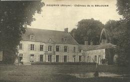 POISSEUX  - CHATEAU DE LA BEDOUSE - France