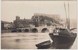 17239g HUY - Le GRAND PONT - Carte Mère - Editeur Tobiansky +/- 1926 - Hoei