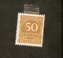 R15-1-3. Germany, Deutsches Reich 1923 Numeral Ziffern - Deutschland