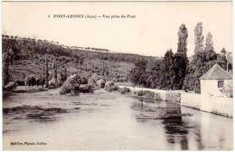 Port-Lesney - Vue Prise Du Pont - Autres Communes