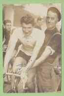 Victor DELVOYE, Autographe Manuscrit, Dédicace. 2 Scans. - Cyclisme