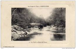 CPA  -  Les Gorges Du Viaur à  PAMPELONNE  -  Le Viaur Au Rives Del  Coucut  -  1917 - Pampelonne