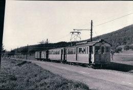 Chemin De Fer Schaffhouse, Train  Près De Löhningen Photo 1964 BVA  StSS 1411 - SH Schaffhouse