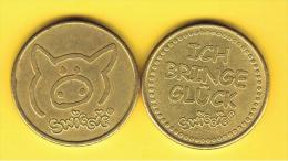 FICHAS - MEDALLAS // Token - Medal - SWIGGIE Ficha Publicitaria De Esta Marca Alemana - Allemagne