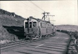 Chemin De Fer Schaffhouse, Train Près De Siblingen, Photo 1964 BVA  StSS 14.8 - SH Schaffhouse