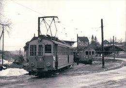 Chemin De Fer Schaffhouse, Train à Schleitheim, Photo 1963 BVA  StSS 14.5 - SH Schaffhouse