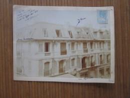 1910  Rue Lépante à Nice Propriété De M. F. G. Devant Magasins épicerie Vitrerie Restaurant Photographie Photo + Fiscal - Lieux