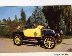 Renault 7 CV. 1907  -  Collection L. Desbordes - Voitures De Tourisme