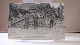 D 68. La Grande Guerre 1914-15 - L'alsace Reconquise - Un Coin De STEINBACH Apres Sa Réoccupation Par Nos Soldats. 1919 - Zonder Classificatie