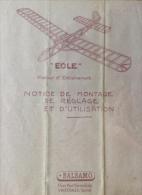 Plan De Construction - Eole - Balsamo - Avions