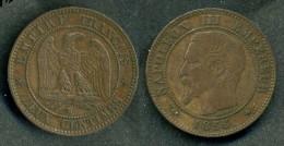 Francia - Moneta 2 Cent. 1856 - Rif. Ba027 - Francia
