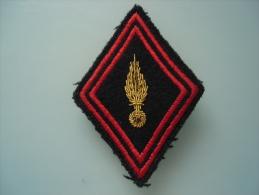 Losange Modele 45 Pour  Officier    Pour Personnel De L Infanterie Non Affectés - Patches