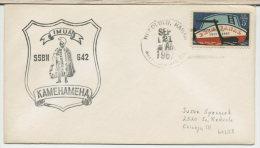 USA  -  SUBMARINE  -   USS   KAMEHAMEHA  SSBN 642 - Submarines
