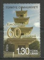 Turkey; 2011 60th Anniv. Of Korean War - Nuevos