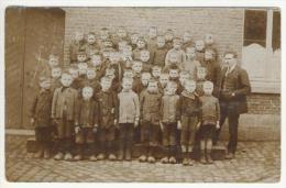 CARTE PHOTO école A Grand Seez Voir Tecte Sur Verso - Ecoles