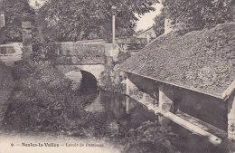 ¤¤  -  9   -   NESLES-la-VALLEE    -   Lavoir De Pontenay   -  Laveuse , Lavendière   -  ¤¤ - Nesles-la-Vallée