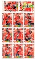 ADRENALYN XL PANINI FOOT 2011-2012 LIGUE 1 RENNES STADE RENNAIS - Trading Cards